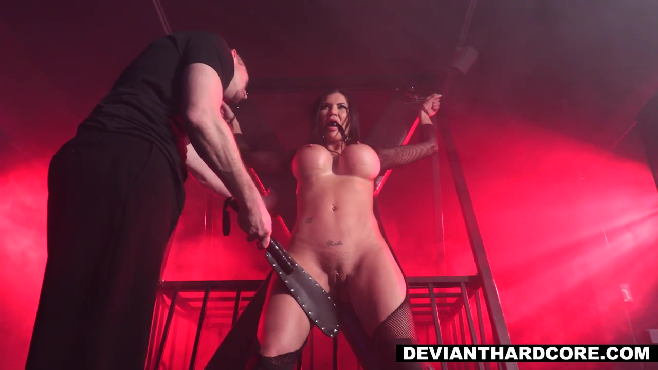Bdsm Porno Video free hd obedient fucktoy jasmine jae tied up and fucked in