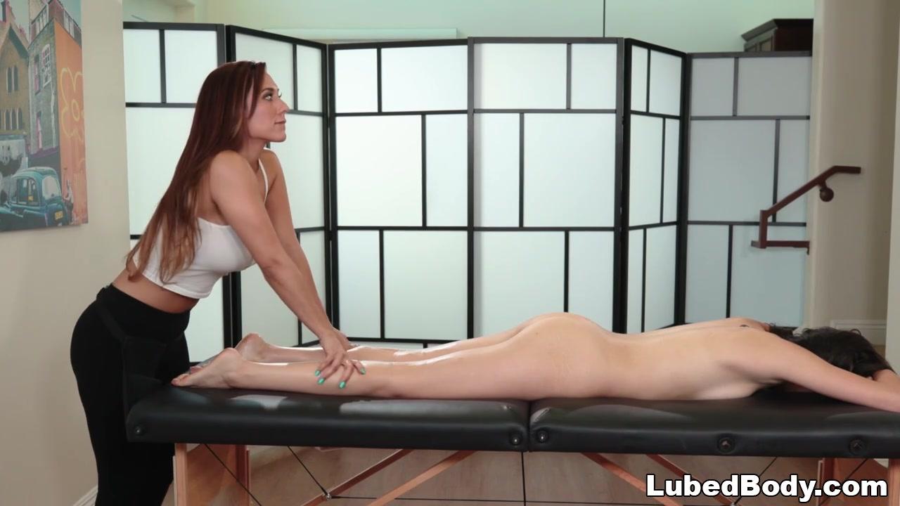Sexy Latina Lesbian Massage