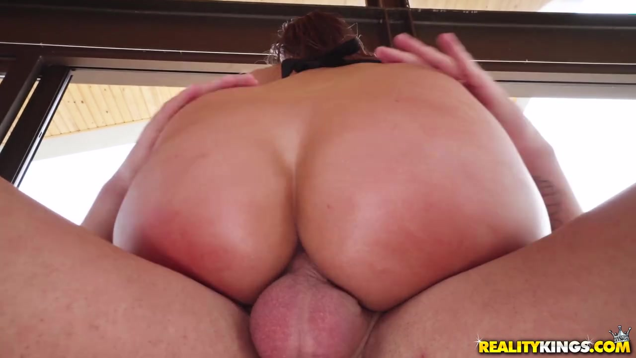 Huge Ass Reverse Cowgirl