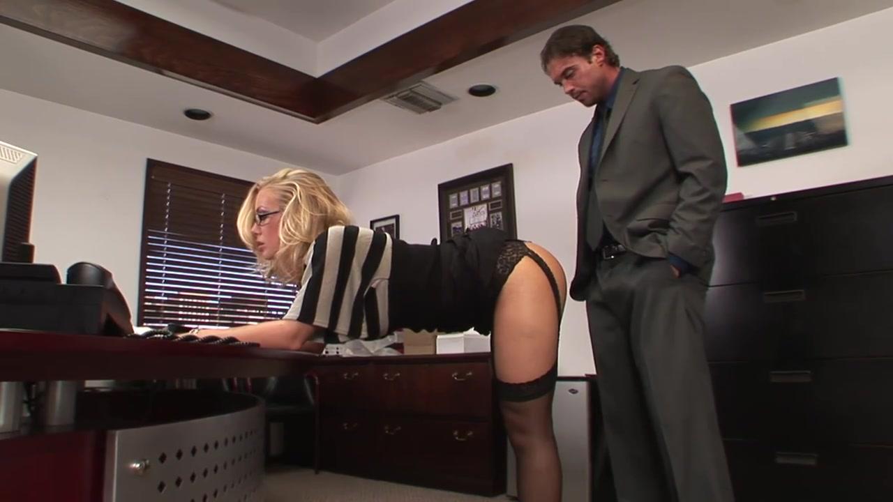 Office Secretary Blonde Real