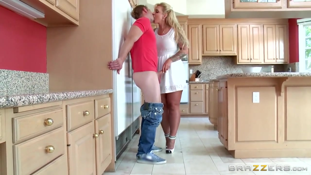 Step Mom Takes Young Cock