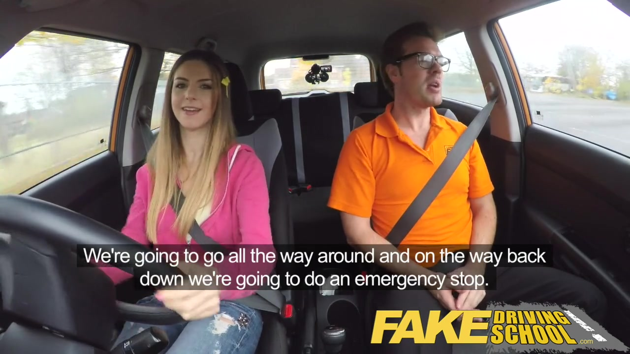 Fake Taxi Glasses Brunette