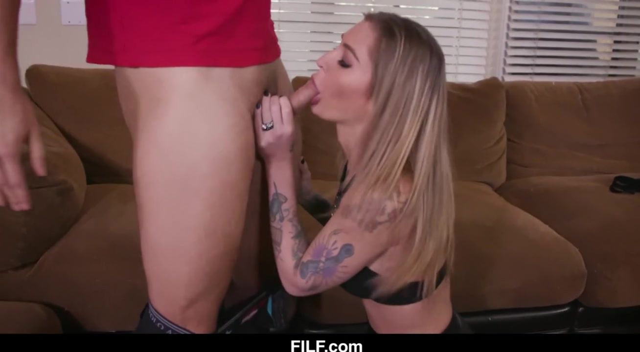 Blonde Step Mom Fucks Son Pov
