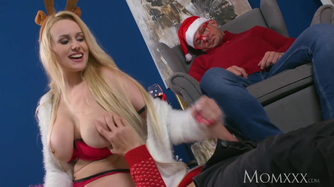 Step Mom Blonde Big Tits