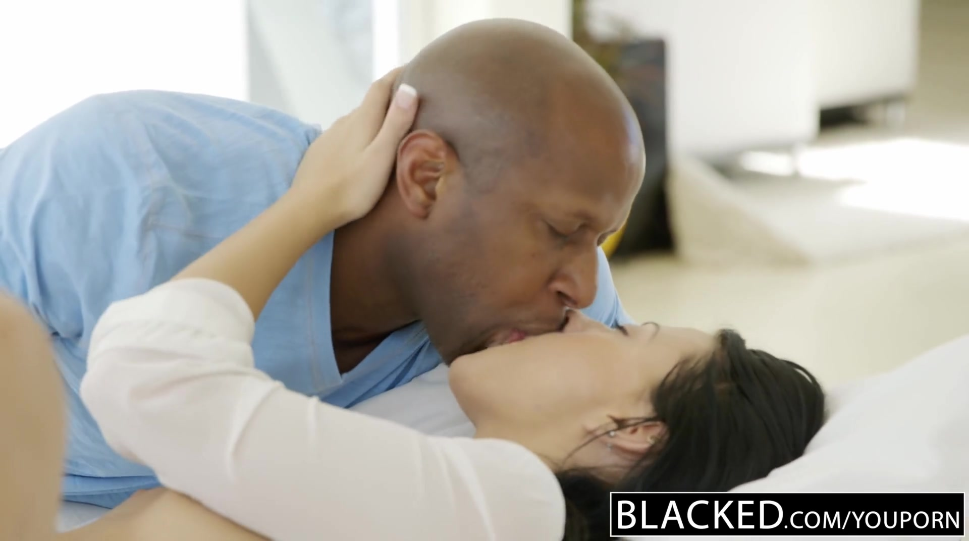 Free HD BLACKED Teen beauty tries Interracial anal sex Porn Video