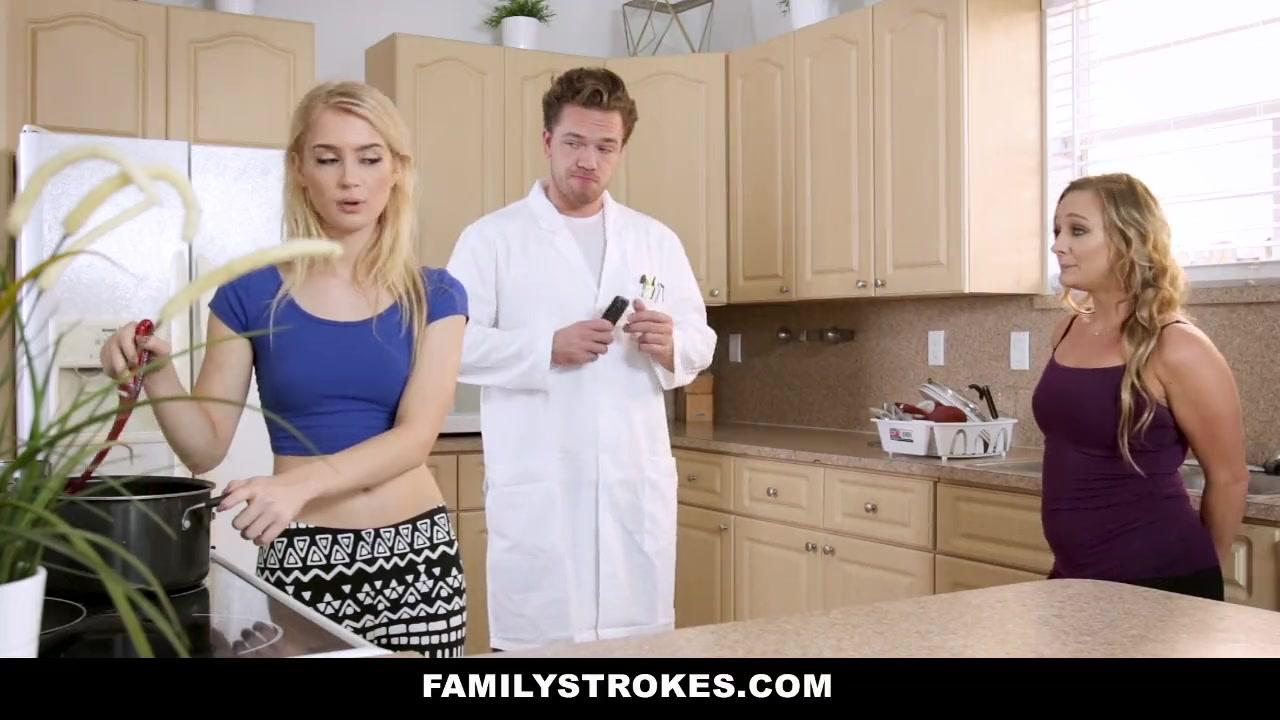Step Sister Stuck Dryer