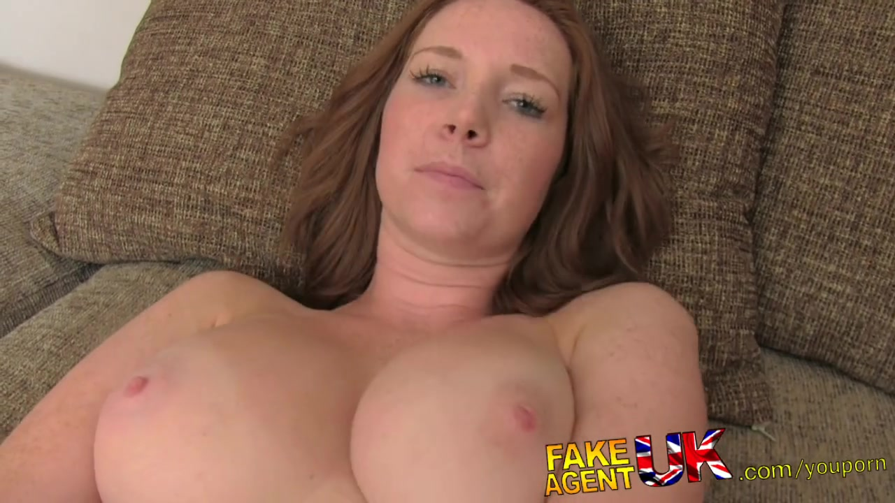 Busty Red Head Creampie
