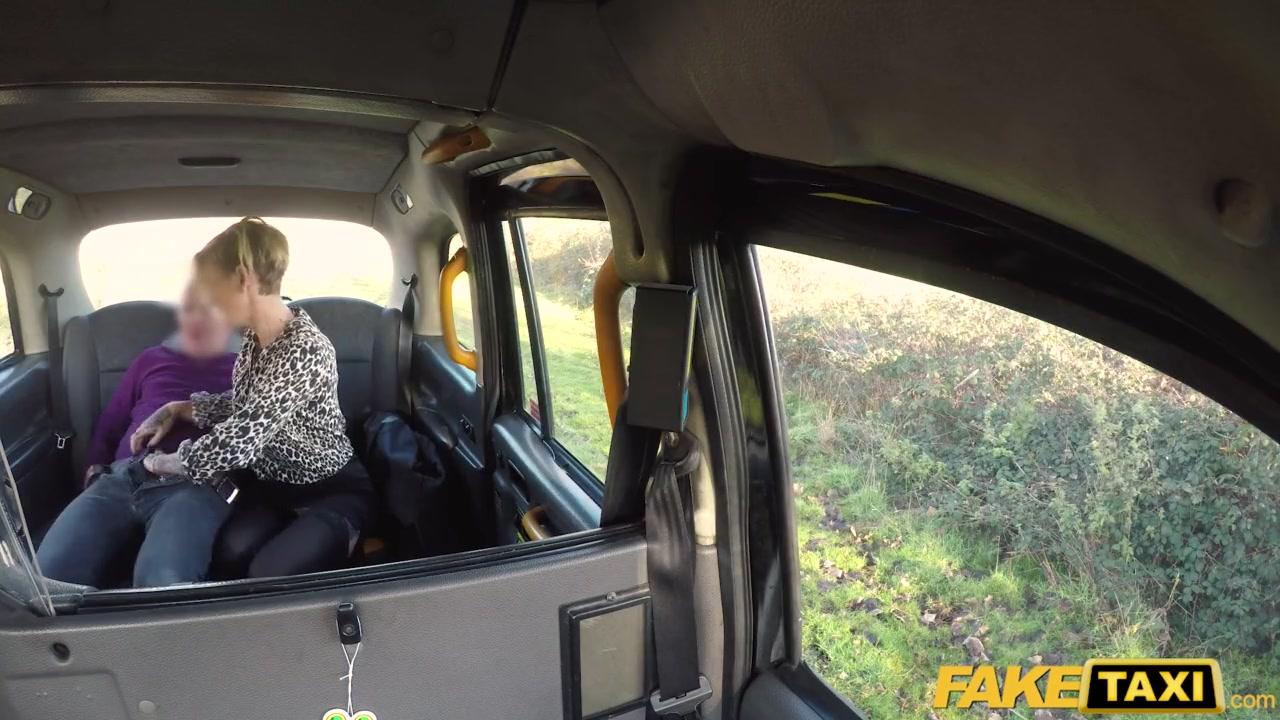British Mature Fake Taxi