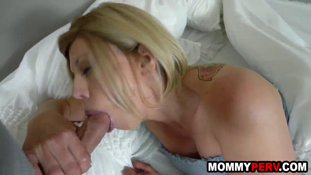 Step Mom Son Blonde Fuck
