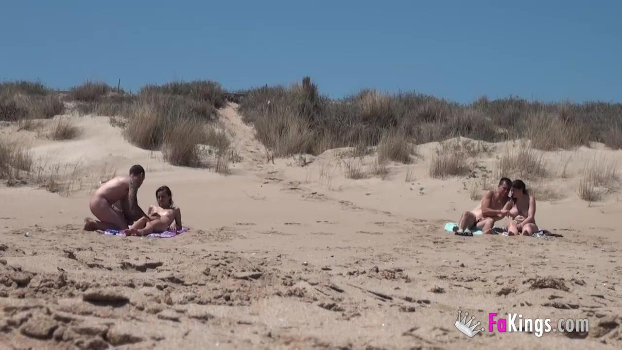 Ainara Videos Porno free hd beach dogging! ainara fucks a voyeur and a couple