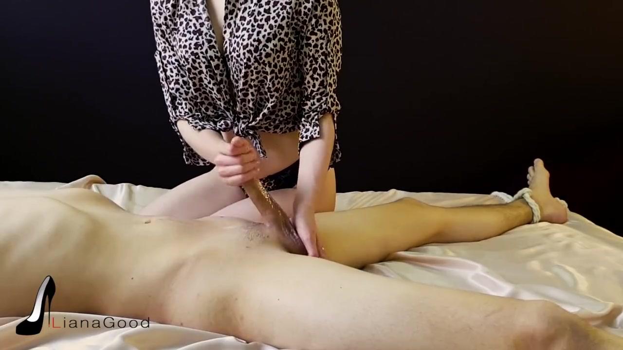 Forcing Him Cum Inside Her