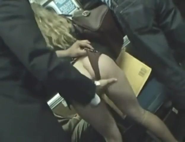 Blonde Fucked Public Bus
