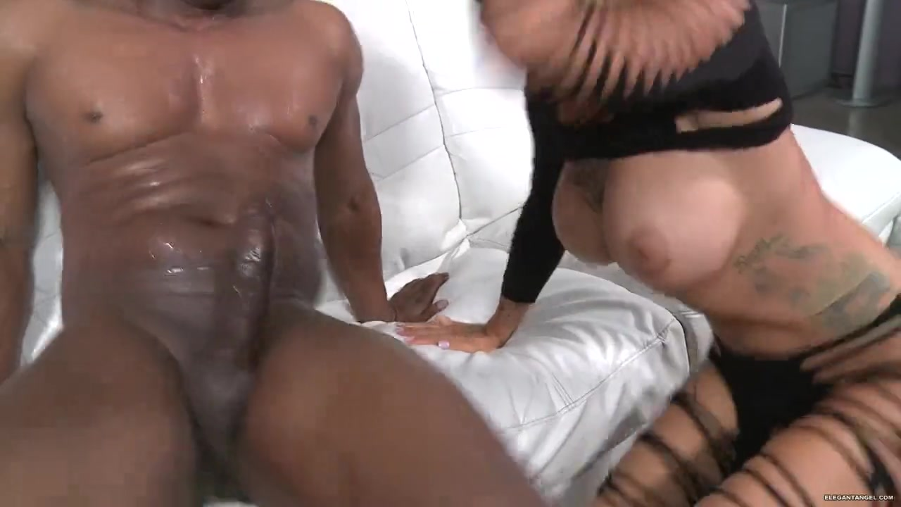 black white dick