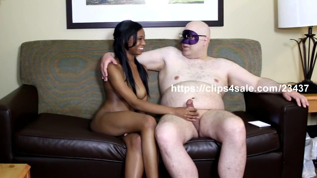 Black Girl Rides Huge Dildo