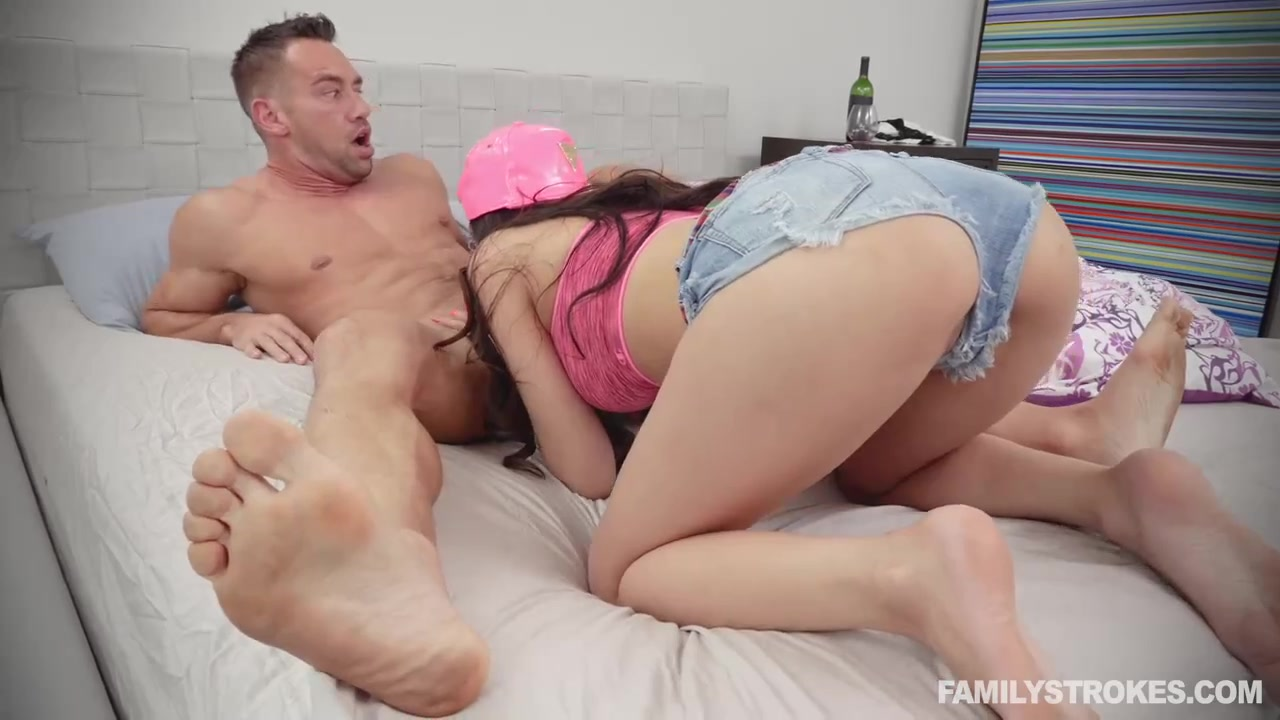 Porn Guy Moaning free hd delightful, tattoed brunette is getting fucked from