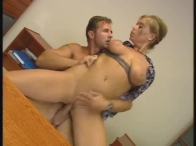 Big Tit Blonde Oil Fuck